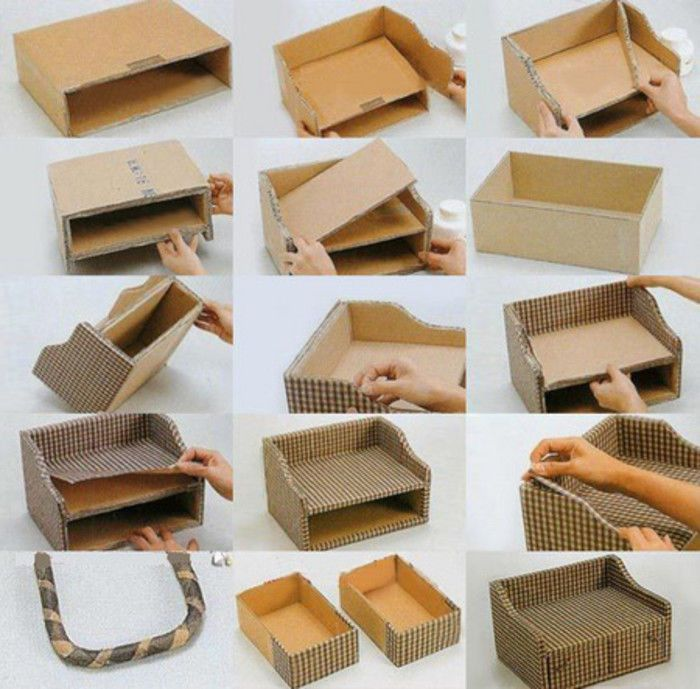 how to make easy things with cardboard